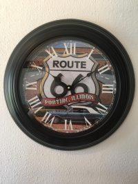 Klok Route 66