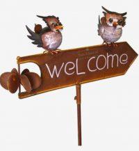 Tuinprikker Welcome