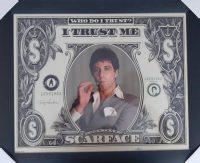 Scarface dollar biljet